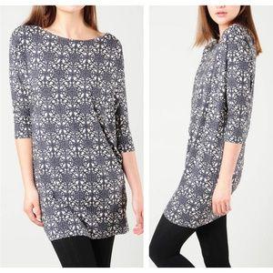 JUICY COUTURE Foulard Print Jersey Tunic Dress FF7